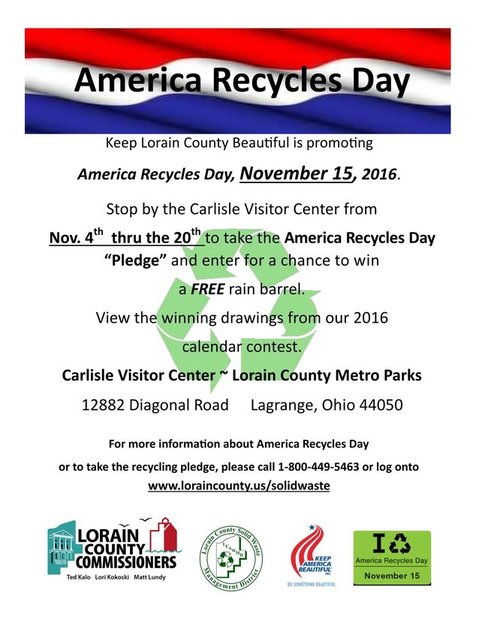 2016 America Recycles Day Flyer