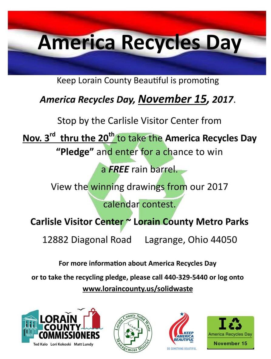 2017 America Recycles Day